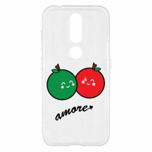 Etui na Nokia 4.2 Jabłka w miłości