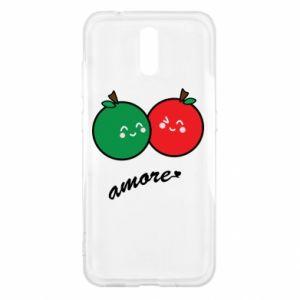 Etui na Nokia 2.3 Jabłka w miłości
