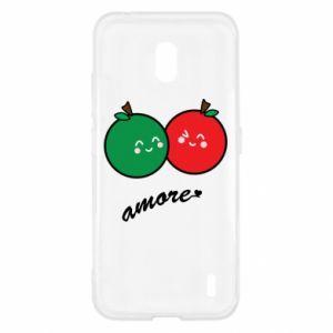 Etui na Nokia 2.2 Jabłka w miłości