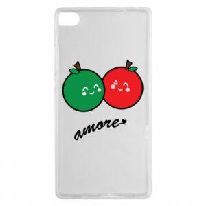 Etui na Huawei P8 Jabłka w miłości