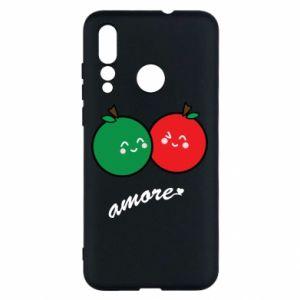 Etui na Huawei Nova 4 Jabłka w miłości