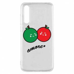 Etui na Huawei P20 Pro Jabłka w miłości
