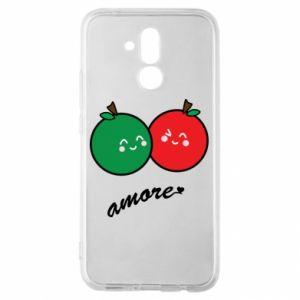 Etui na Huawei Mate 20 Lite Jabłka w miłości
