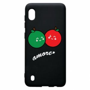 Etui na Samsung A10 Jabłka w miłości