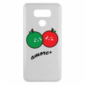 Etui na LG G6 Jabłka w miłości