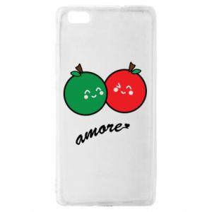 Etui na Huawei P 8 Lite Jabłka w miłości