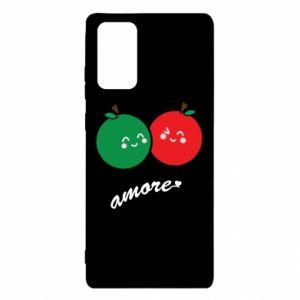 Etui na Samsung Note 20 Jabłka w miłości