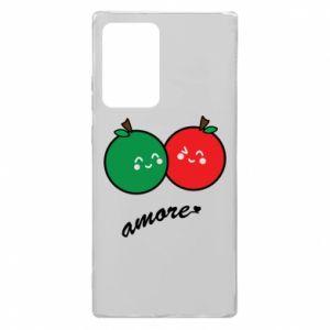 Etui na Samsung Note 20 Ultra Jabłka w miłości
