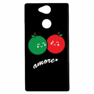 Etui na Sony Xperia XA2 Jabłka w miłości
