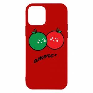 Etui na iPhone 12/12 Pro Jabłka w miłości