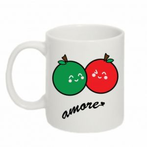 Mug 330ml Apples in love - PrintSalon