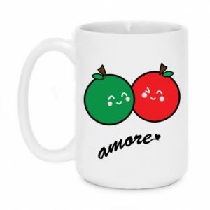 Mug 450ml Apples in love - PrintSalon