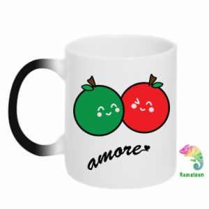 Kubek-magiczny Jabłka w miłości