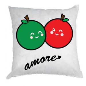 Pillow Apples in love - PrintSalon