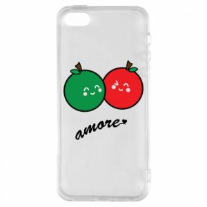 Phone case for iPhone 5/5S/SE Apples in love