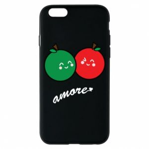 Phone case for iPhone 6/6S Apples in love - PrintSalon