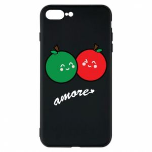 Phone case for iPhone 8 Plus Apples in love - PrintSalon