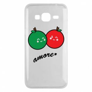 Phone case for Samsung J3 2016 Apples in love