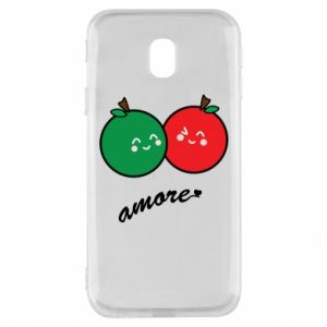 Phone case for Samsung J3 2017 Apples in love