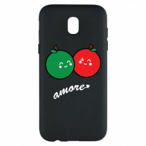Phone case for Samsung J5 2017 Apples in love