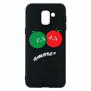 Phone case for Samsung J6 Apples in love