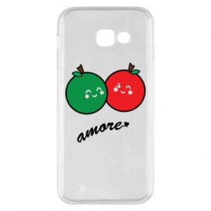 Phone case for Samsung A5 2017 Apples in love - PrintSalon