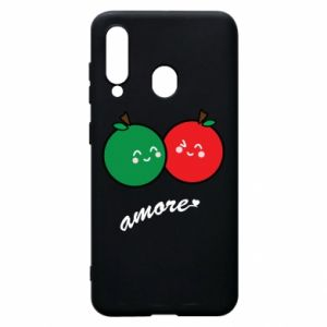 Phone case for Samsung A60 Apples in love - PrintSalon