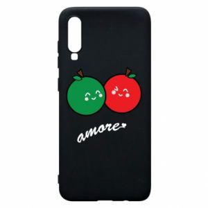 Phone case for Samsung A70 Apples in love - PrintSalon