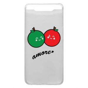 Phone case for Samsung A80 Apples in love - PrintSalon
