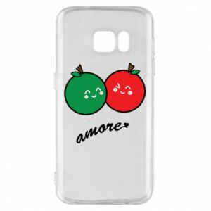 Phone case for Samsung S7 Apples in love