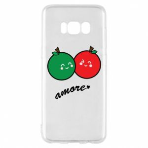 Phone case for Samsung S8 Apples in love