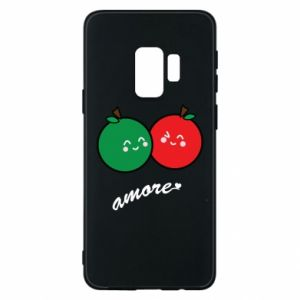 Phone case for Samsung S9 Apples in love