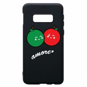 Phone case for Samsung S10e Apples in love
