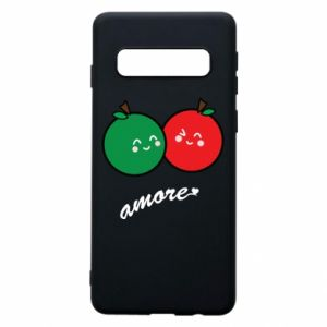 Phone case for Samsung S10 Apples in love