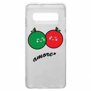 Phone case for Samsung S10+ Apples in love