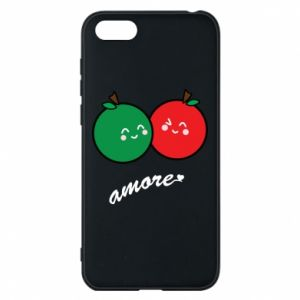 Phone case for Huawei Y5 2018 Apples in love - PrintSalon
