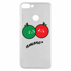 Phone case for Huawei P Smart Apples in love - PrintSalon