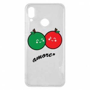 Phone case for Huawei P Smart Plus Apples in love - PrintSalon