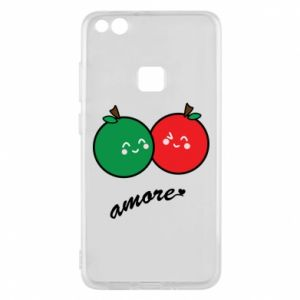 Phone case for Huawei P10 Lite Apples in love - PrintSalon