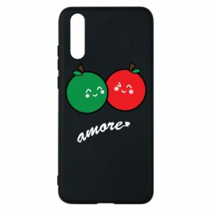 Phone case for Huawei P20 Apples in love - PrintSalon