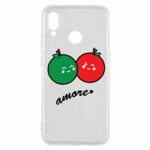 Phone case for Huawei P20 Lite Apples in love - PrintSalon