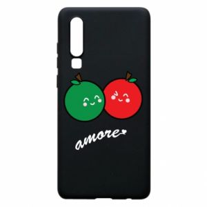 Phone case for Huawei P30 Apples in love - PrintSalon