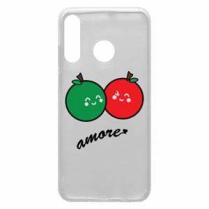 Etui na Huawei P30 Lite Jabłka w miłości