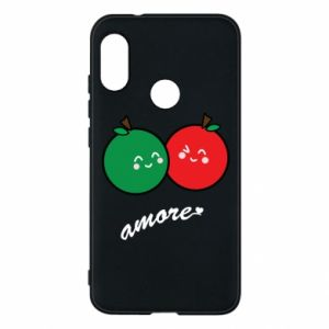 Phone case for Mi A2 Lite Apples in love