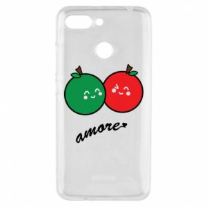 Etui na Xiaomi Redmi 6 Jabłka w miłości