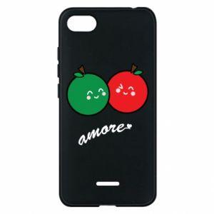Etui na Xiaomi Redmi 6A Jabłka w miłości