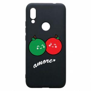 Etui na Xiaomi Redmi 7 Jabłka w miłości