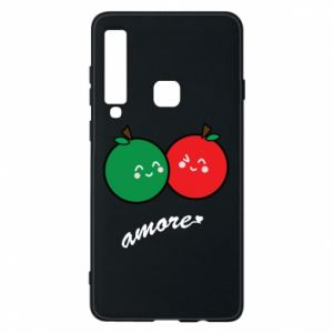 Phone case for Samsung A9 2018 Apples in love - PrintSalon