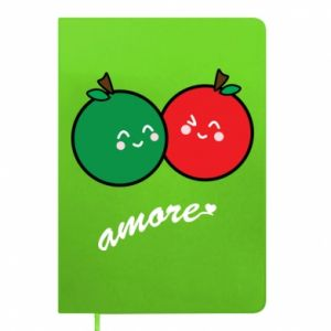 Notepad Apples in love