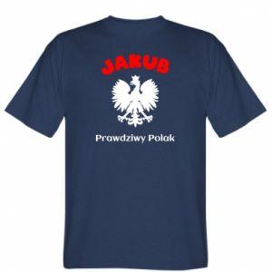 Koszulka męska Jakub jest prawdziwym Polakiem